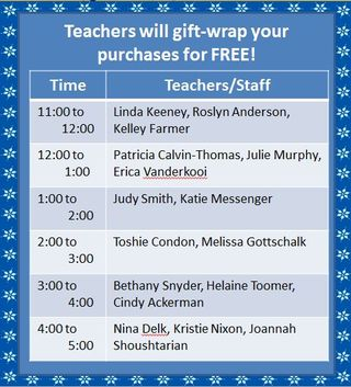 Teacher Line-Up
