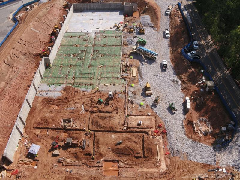 KSES 9.16.2019 Aerial View Looking South